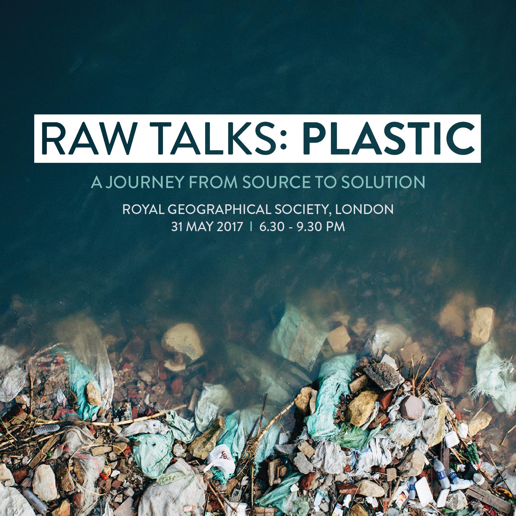 Raw Talks Plastic RGS London - Social Media 4-01